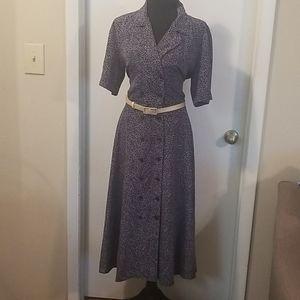 Liz Claiborne vintage double breasted dress